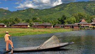 Aureum Palace Resort & Spa Inle, Inle Lake, Myanmar (Burma)