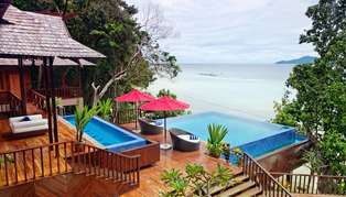 Bunga Raya Island Resort & Spa, Borneo