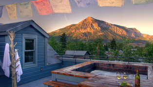 Scarp Ridge Lodge, Colorado, USA