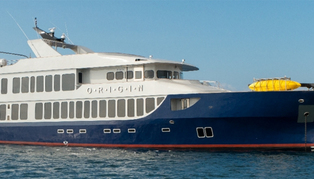 MV Origin cruise boat, Galapagos